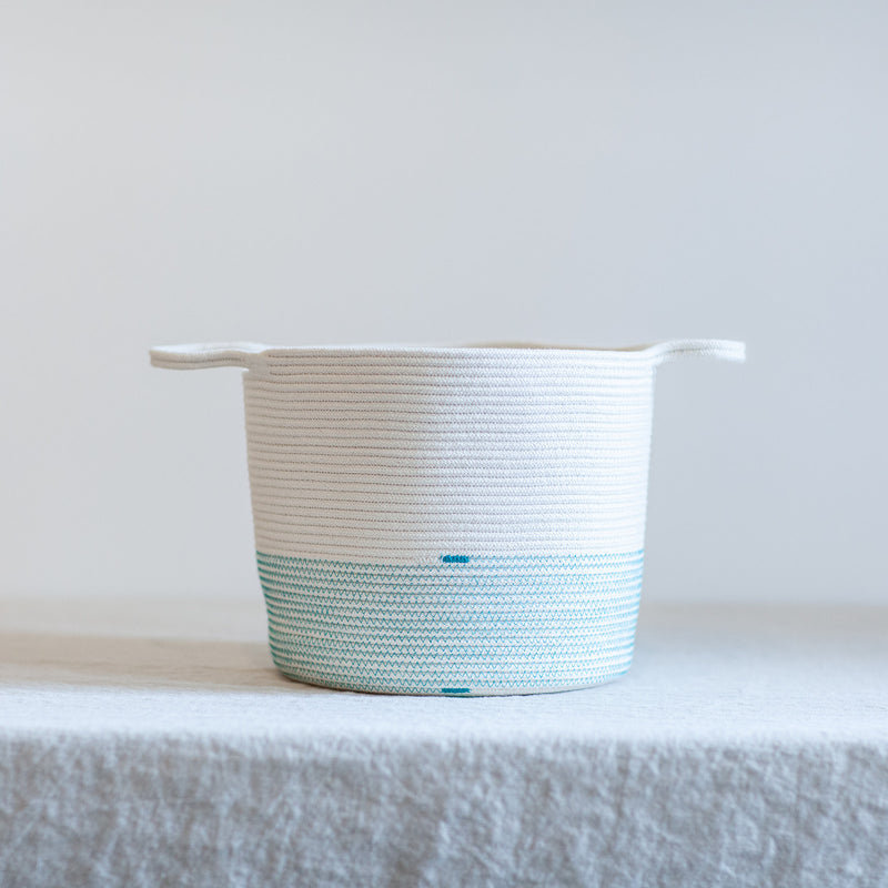 Cotton Basket - Teal