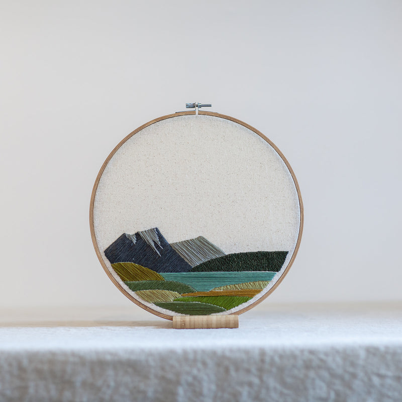Mountain and Lake Landscape - 10in