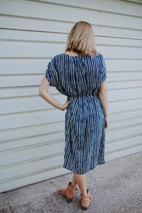 The Lillian Striped Dress