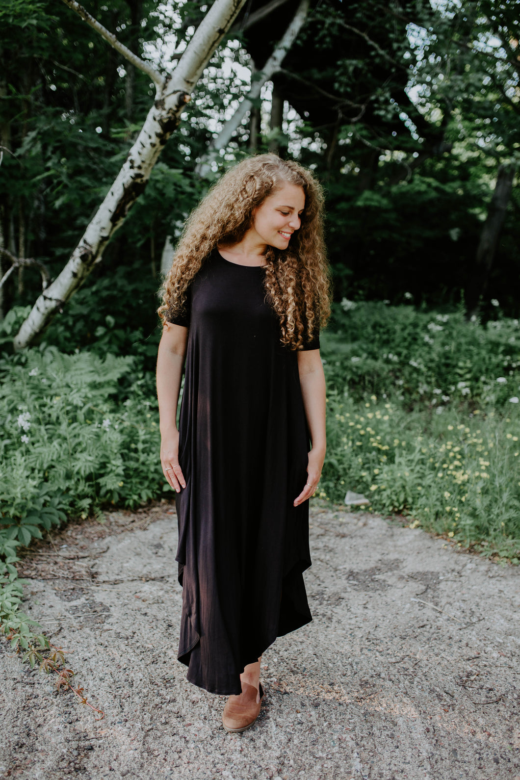 Our Everyday Maxi Dress in Black