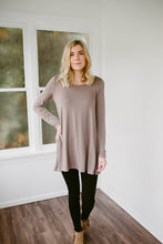 Our Everyday Long Sleeve Tunic in Cocoa