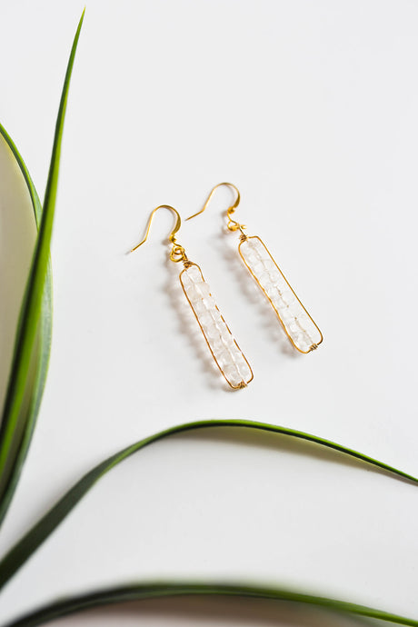 Quartz Earrings