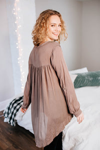 The Audrey Tunic Blouse