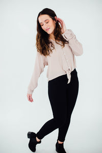 The Ana Button Blouse