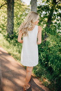 The Tennie Dress in Ivory