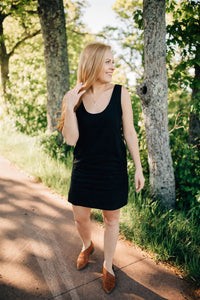 The Tennie Dress in Black