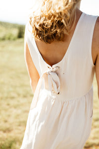 The Daisy Dress with Back Tie