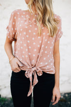 The Hayden Knotted Blouse
