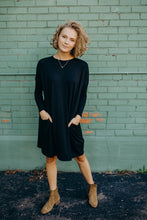 Our Everyday Tunic Dress in Black