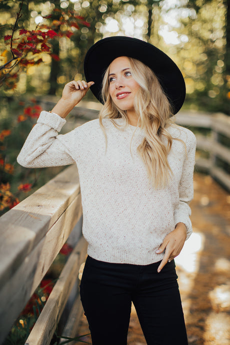 The Charlotte Pullover Sweater
