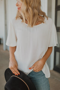 The Mari Ruffled Blouse