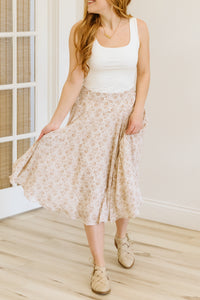The Gabrielle Patterned Skirt