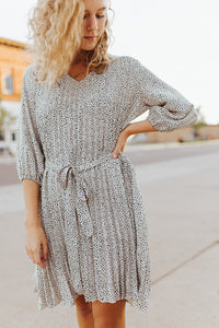 The Cecille Patterned Dress