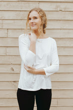 Our Everyday Round Neck Top in Ivory