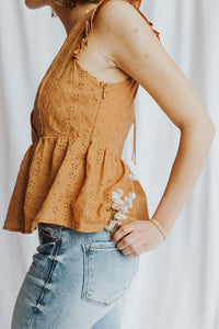 Lottie Ruffled Tank Top