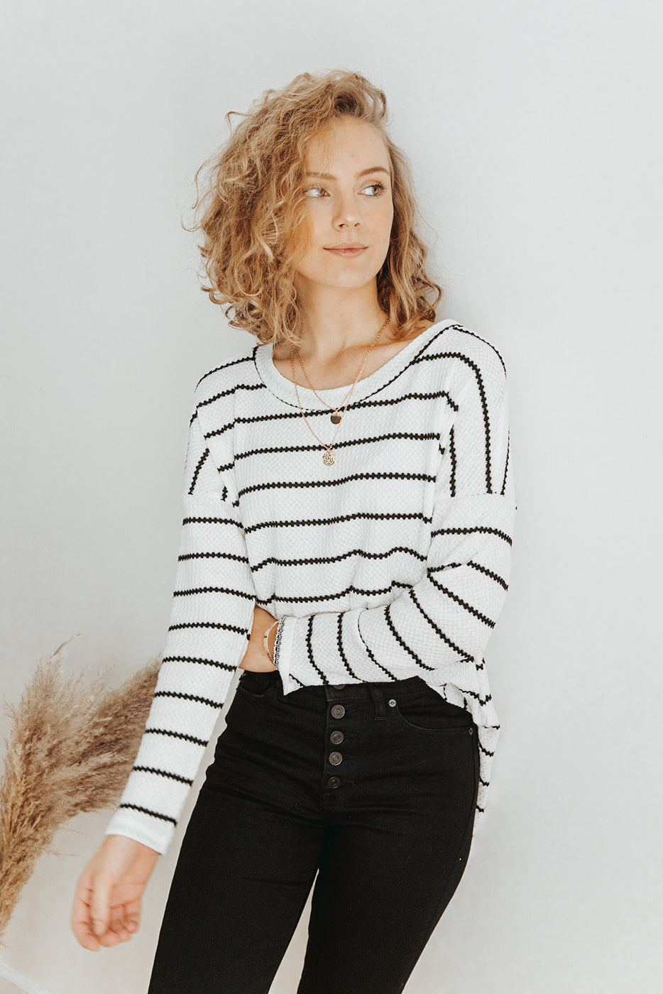 The Everett Striped Top