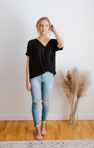That's a Wrap Tee in Black