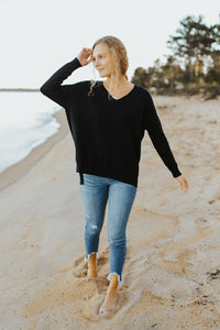 The Essential V-Neck Sweater