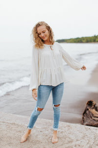 The Ashlyn Tiered Blouse