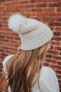 The Jovie Winter Hat in Cream