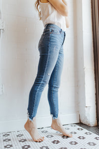 The Gemma Cropped Denim