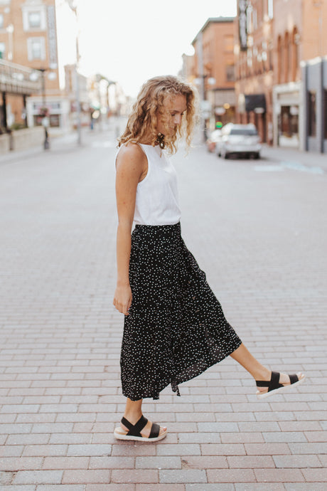 The Bridgett Dotted Skirt