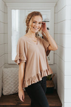 The Clara Ruffled Blouse