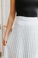 The Libby Pleated Skirt