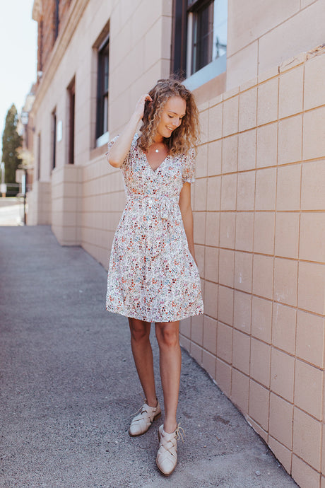 The Myra Floral Dress
