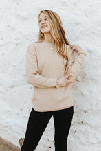 Reagan Sweater in Oatmeal