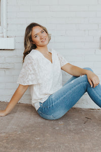 The Marea Lace Blouse