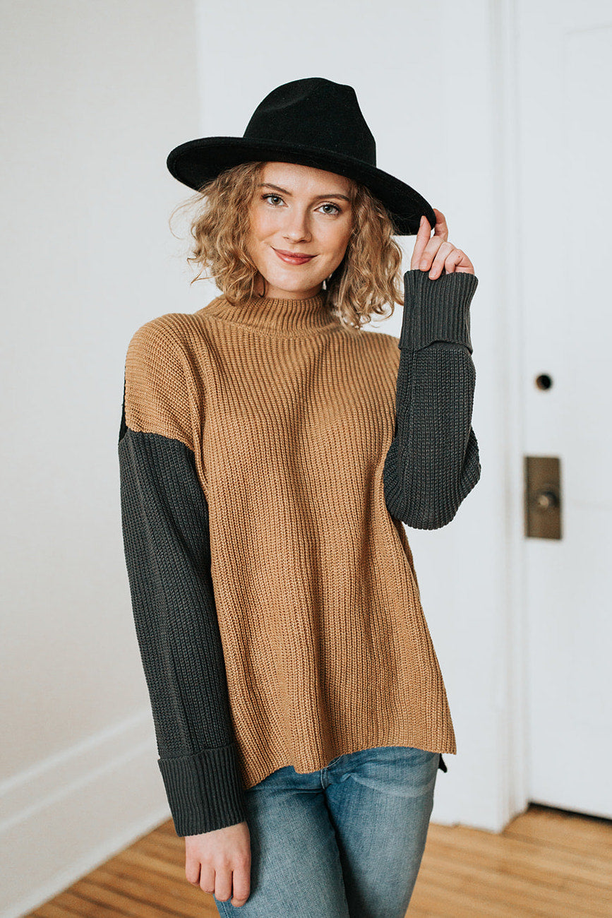 The Sierra Colorblock Sweater