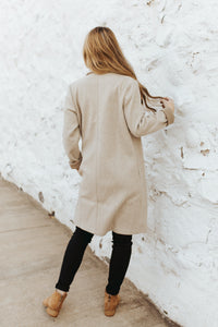 The Edmonton Coat in Oatmeal