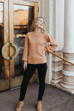 The Bridgett Sweater in Salmon