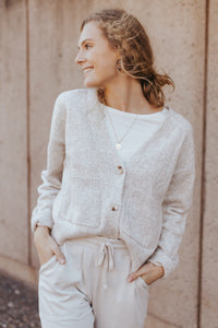 The Charlotte Button Cardigan