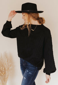 Jetta Cable Knit Sweater