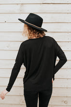 Our Everyday Relaxed Long Sleeve in Black