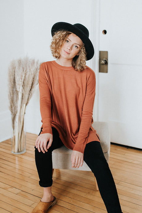 The Hudson Casual Sweater Top