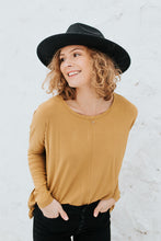 Our Everyday Relaxed Long Sleeve in Mustard