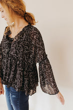 The Adele Floral Blouse