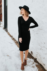 Our Everyday Fitted Long Sleeve Dress