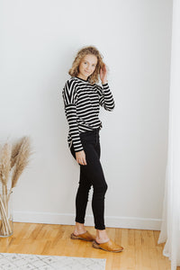 The Remie Striped Top