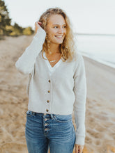 The Leah Button Sweater