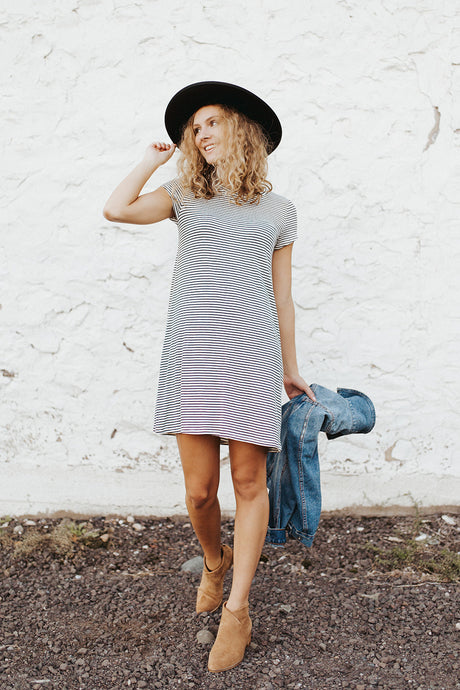 The Nora Striped Dress