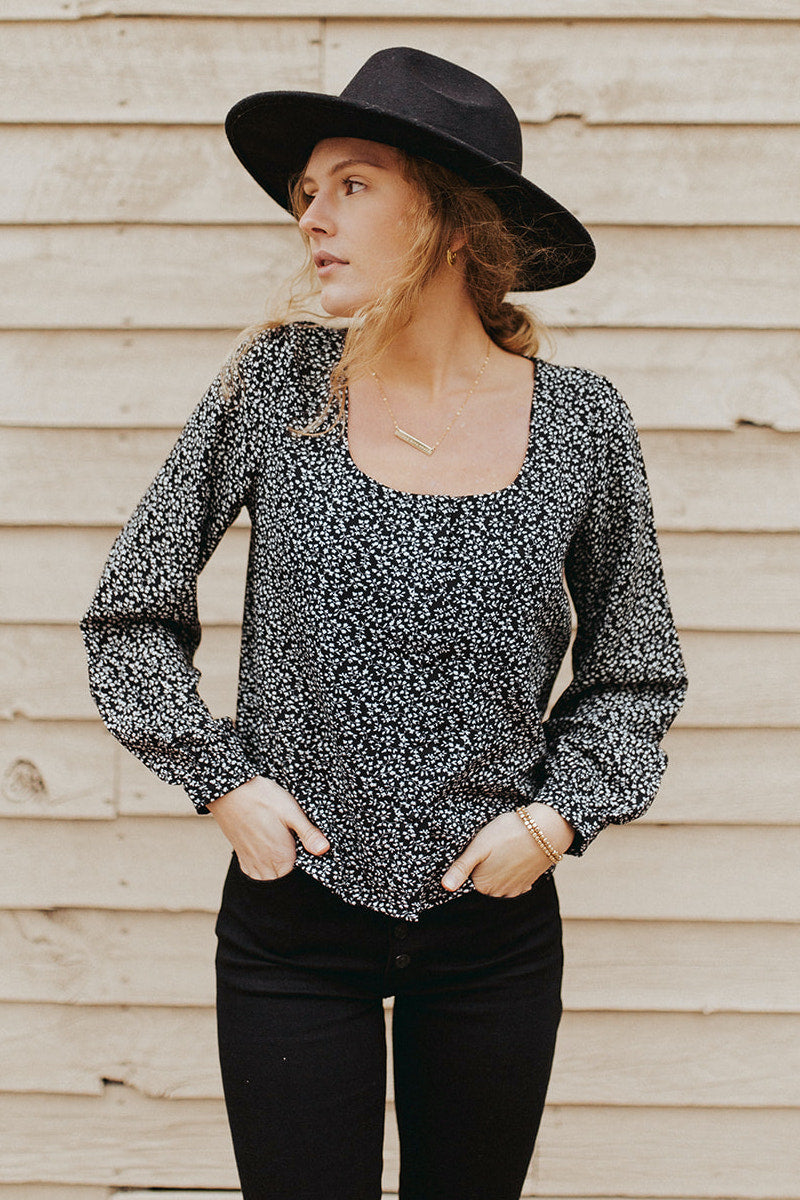 The Sawyer Button Up Blouse