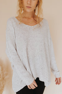 The Callen Loose Knit Sweater
