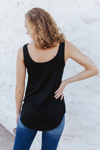 Our Everyday Basic Tank in Black