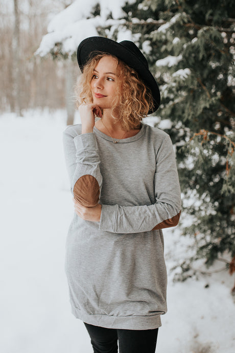 The Denver Patch Sleeve Tunic