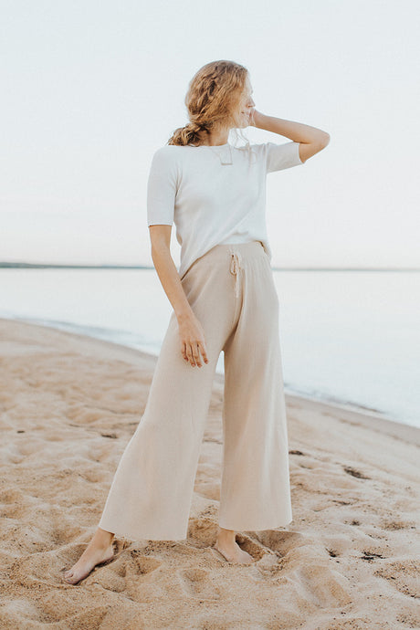 The Luca Wide Leg Pant