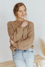 Iris Knit Sweater in Mocha